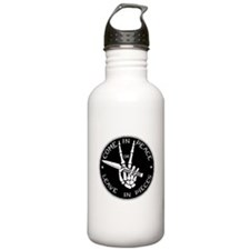 Come in Peace Water Bottle