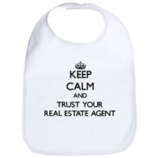 Keep Calm and Trust Your Real Estate Agent Bib
