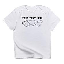 Custom Saber Toothed Tiger Infant T-Shirt