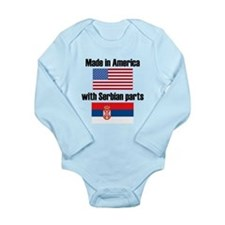 Made In America With Serbian Parts Body Suit