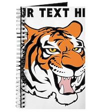 Custom Tiger Head Journal