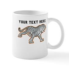Custom White Tiger Mugs