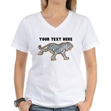 Custom White Tiger T-Shirt
