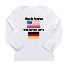 Made In America With German Parts Long Sleeve T-Sh