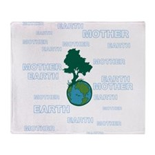 EARTH MOTHER / MOTHER EARTH Throw Blanket