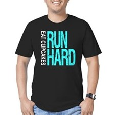 Run Hard Eat Cupcakes T