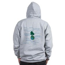 Earth Mother / Mother Earth Zip Hoodie