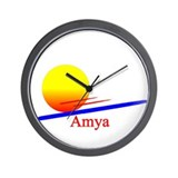 Amya Wall Clock