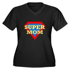 Super Mom: Plus Size T-Shirt