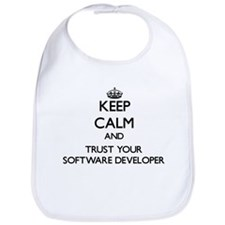 Keep Calm and Trust Your Software Developer Bib