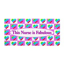 Pretty Nurse Beach Towel