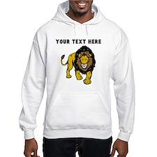 Custom Male Lion Hoodie