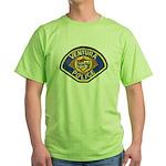 Ventura Police Green T-Shirt