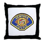 Ventura Police Throw Pillow