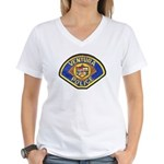 Ventura Police Women's V-Neck T-Shirt