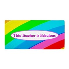 Best Teacher Beach Towel