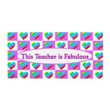 Love Teaching Beach Towel