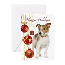 Jack Russell Terrier Christmas Greeting Cards