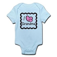 I Love Grandma Baby/Toddler bodysuit