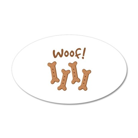 Woof! Wall Decal