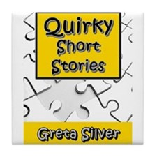 Quirky Short Stories Tile Coaster