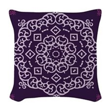 Magnificent Woven Throw Pillow
