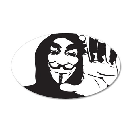 anon3 Wall Decal