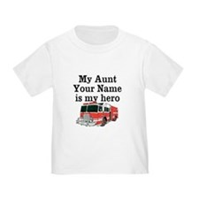 My Aunt (Your Name) Is My Hero T-Shirt