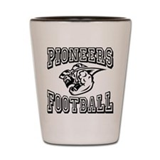 Pioneers Football Shot Glass