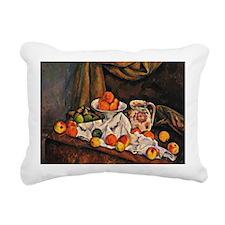 Cezanne - Fruit Bowl, Pi Rectangular Canvas Pillow