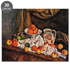 Cezanne - Fruit Bowl, Pitcher, and Fruit Puzzle