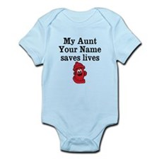 My Aunt (Your Name) Saves Lives Body Suit