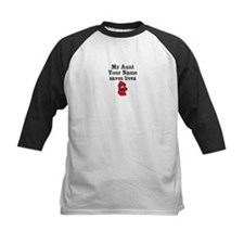 My Aunt (Your Name) Saves Lives Baseball Jersey