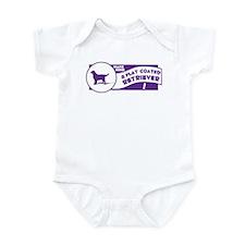 Make Mine Flatcoat Infant Bodysuit
