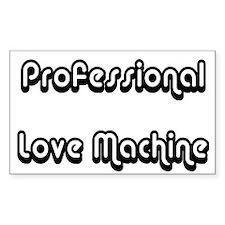 Love Machine Rectangle Decal