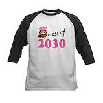 Class of 2030 (Owl) Kids Baseball Jersey