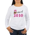 Class of 2030 (Owl) Women's Long Sleeve T-Shirt
