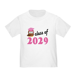 Class of 2029 (Owl) Toddler T-Shirt