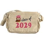 Class of 2029 (Owl) Messenger Bag