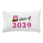 Class of 2029 (Owl) Pillow Case
