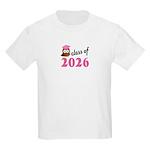 Class of 2026 (Owl) Kids Light T-Shirt