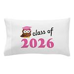 Class of 2026 (Owl) Pillow Case