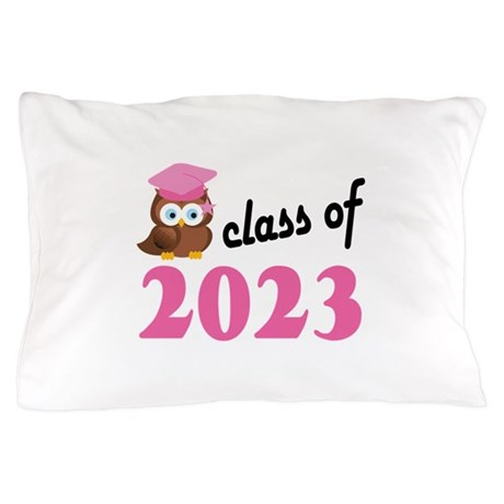 Class of 2023 (Owl) Pillow Case