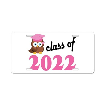 Class of 2022 (Owl) Aluminum License Plate