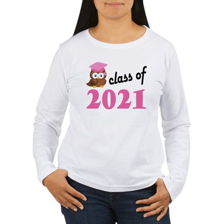 Class of 2021 (Owl) Women's Long Sleeve T-Shirt