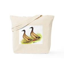 Khaki Campbell Ducks Tote Bag