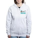 Class of 2030 (Owl) Women's Zip Hoodie