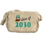 Class of 2030 (Owl) Messenger Bag