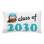 Class of 2030 (Owl) Pillow Case