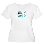 Class of 2030 Women's Plus Size Scoop Neck T-Shirt